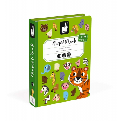 Μαγνητικό Βιβλίο Ζώα