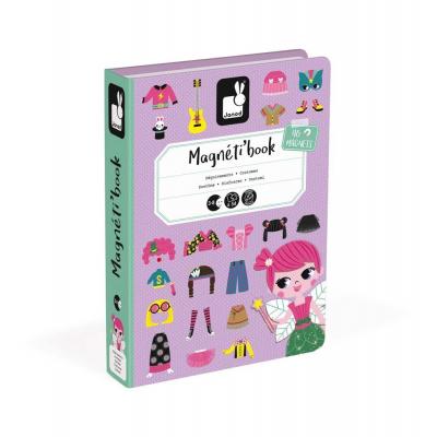 Μαγνητικό Βιβλίο Κοριτσίστικα Ρούχα