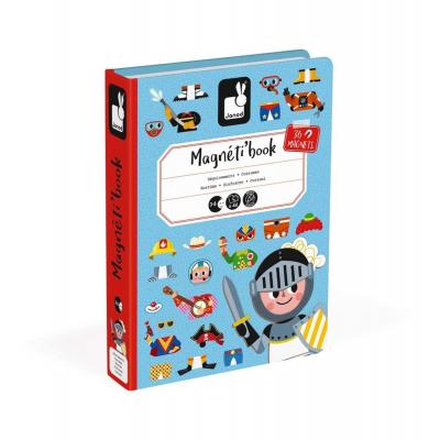 Μαγνητικό Βιβλίο Αγορίστικα Ρούχα