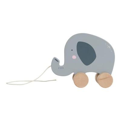 Ξύλινο Συρόμενο Ελεφαντάκι