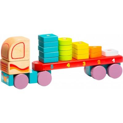 Ξύλινο Φορτηγό Στοίβαξης Σχημάτων
