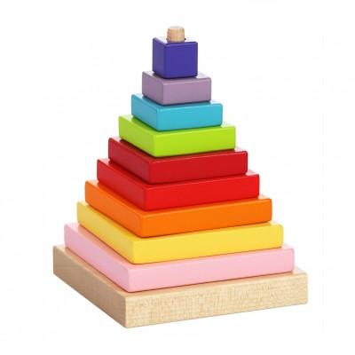 Ξύλινη Πυραμίδα Στοίβαξης