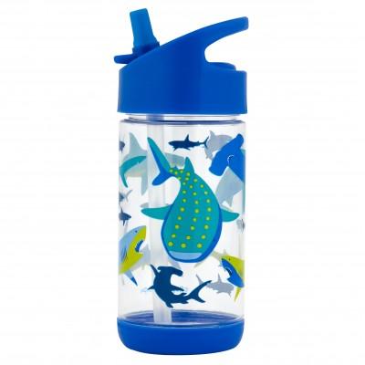 Παγούρι Με Καλαμάκι Shark 350ml