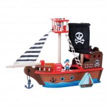 Ξύλινο Πειρατικό Καράβι