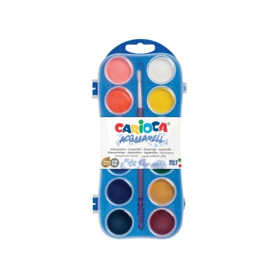 Νερομπογιές Acquarell 12 χρώματα