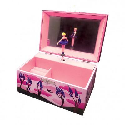 Μουσικό Κουτί - Μπιζουτιέρα Happy Birds