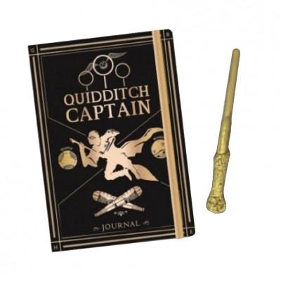 Harry Potter Quidditch Notebook & Pen Set
