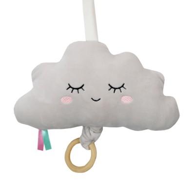 Μουσικό Βελούδινο Σύννεφο Γκρι