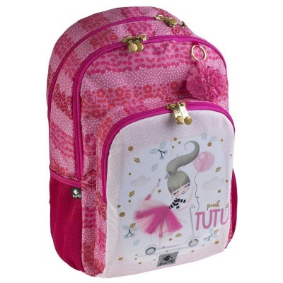 Σακίδιο Πλάτης Δημοτικού Pink Tutu