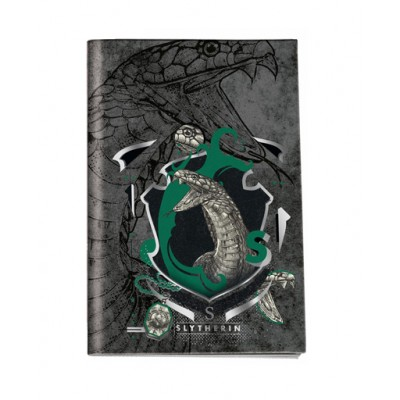 Τετράδιο Καρφίτσα Harry Potter Slytherin