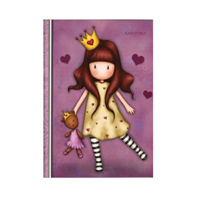 Τετράδιο Καρφίτσα Gorjuss Princesses