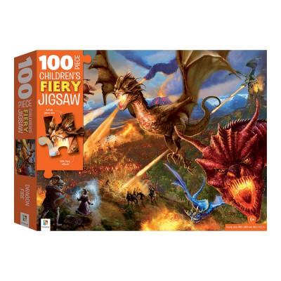 Παζλ Dragons Fiery 100κομ.