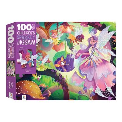 Παζλ Fairy Garden Sparkly 100κομ.