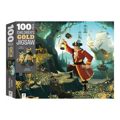 Παζλ Pirate Treasure Gold Foil 100κομ.