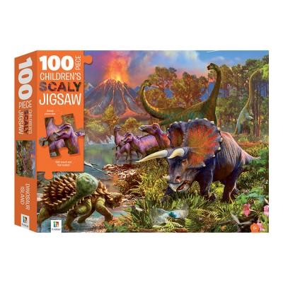 Παζλ Dinosaur Island Scaly 100κομ.