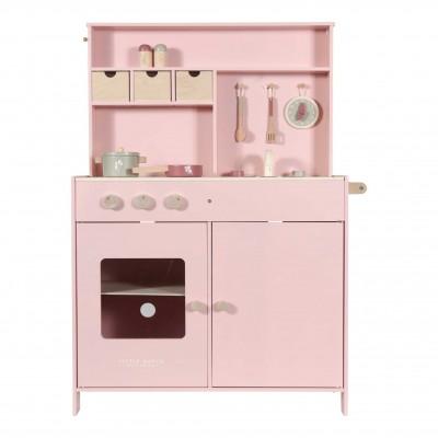 Ξύλινη Κουζίνα Adventure Pink