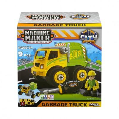 Κατασκευή Machine Maker Garbage Truck