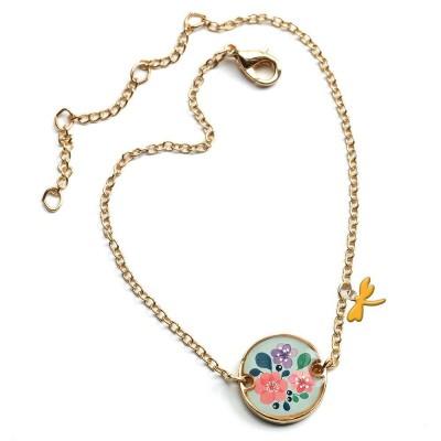 Βραχιόλι Lovely Bracelet Λουλούδια