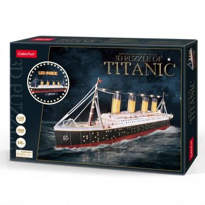 Παζλ 3D Titanic Led Light 266κομ.