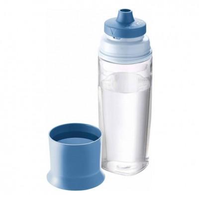 Παγούρι Με Ποτήρι Concept Μπλε 500ml