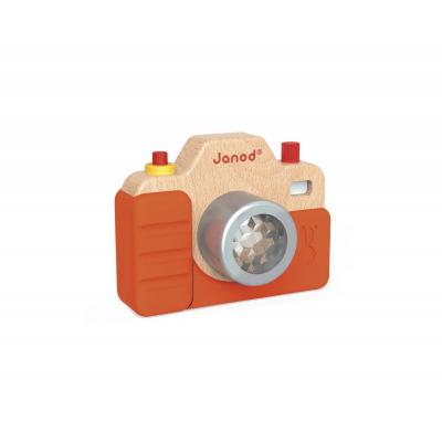 Ξύλινη Φωτογραφική Μηχανή Με Ήχο & Φως
