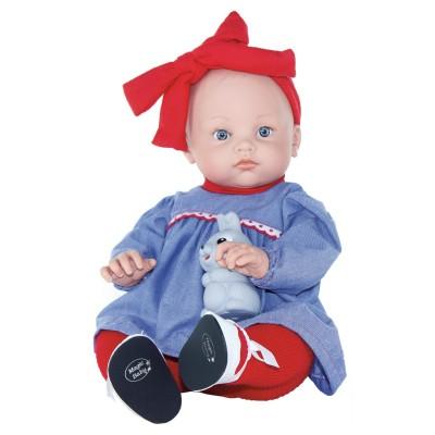 Κούκλα Alicia With Red Bow