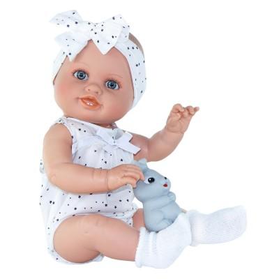 Κούκλα Daniela With White Bow