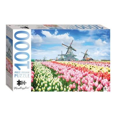 Παζλ Dutch Windmills, Netherlands 1000κομ.