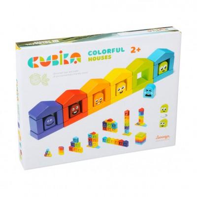 Ξύλινο Παιχνίδια Συναισθήματα & Χρώματα