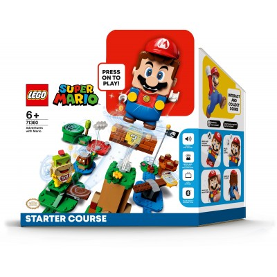 Adventures With Mario Starter Course 71360