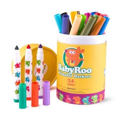 Μαρκαδόροι Baby Roo Markers 24τεμ.