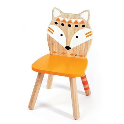 Ξύλινη Παιδική Καρέκλα Αλεπού