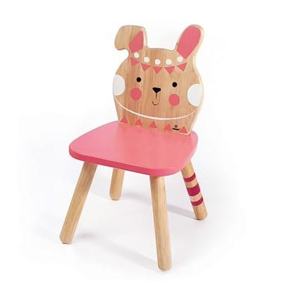 Ξύλινη Παιδική Καρέκλα Λαγουδάκι