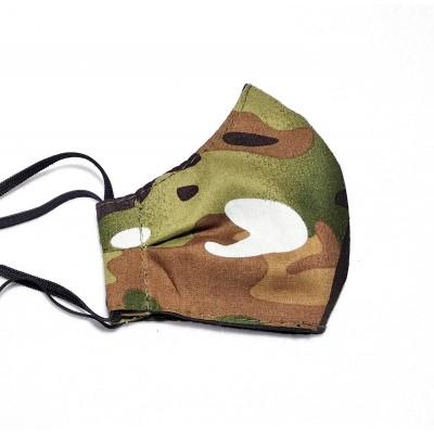 Μάσκα Προστασίας Παραλλαγής Χακί Medium