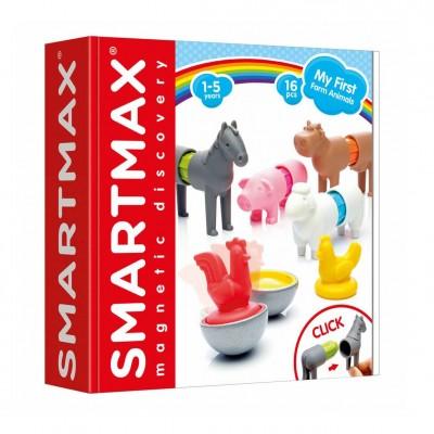 Μαγνητικές Κατασκευές SmartMax My First Farm Animals