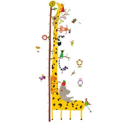 Αναστημόμετρο Αυτοκόλλητο Καμηλοπάρδαλη