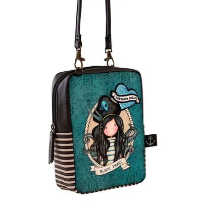Gorjuss Shoulder Bag - Black Pearl