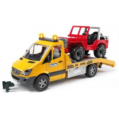Οδική Βοήθεια Mercedes Sprinter Με Jeep