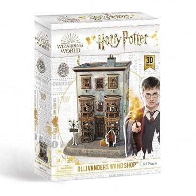 Παζλ 3D Harry Potter Diagon Alley - Ollivanders Wand Shop  66κομ.