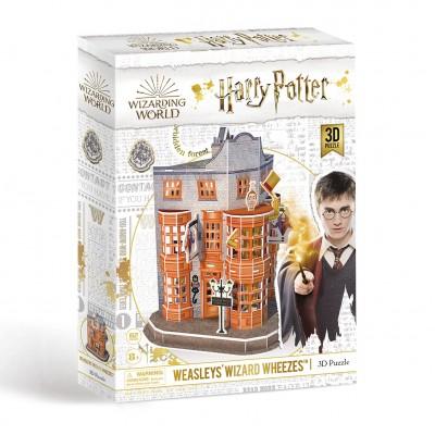 Παζλ 3D Harry Potter Diagon Alley - Weasleys' Wizard Wheezes 62κομ.