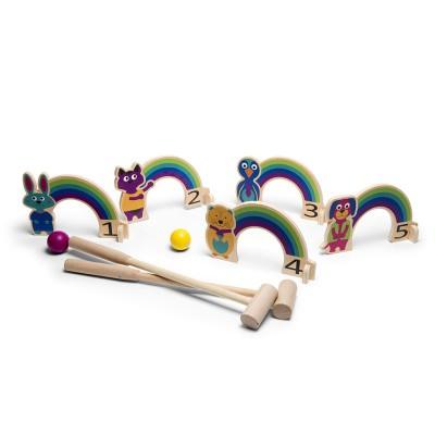 Rainbow Croquet