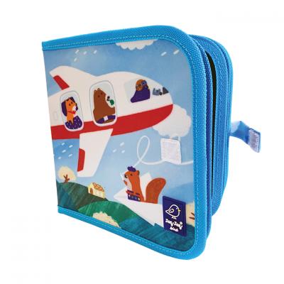 Jaq Jaq Bird Βιβλίο ΖωγραφικήςFriends Airplanes