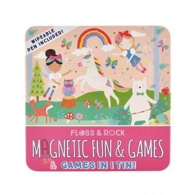 Μαγνητικό Παιχνίδι 4σε1 Rainbow Fairy