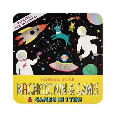 Μαγνητικό Παιχνίδι 4σε1 Space