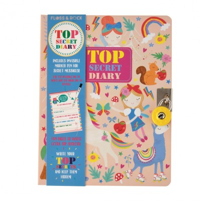 Ημερολόγιο Top Secret Rainbow Fairy