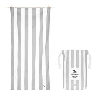 Πετσέτα Θαλάσσης Quickdry Cabana - Goa Grey