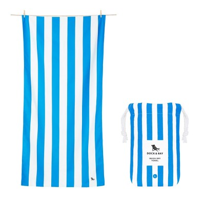 Πετσέτα Θαλάσσης Quickdry Cabana - Bondi Blue