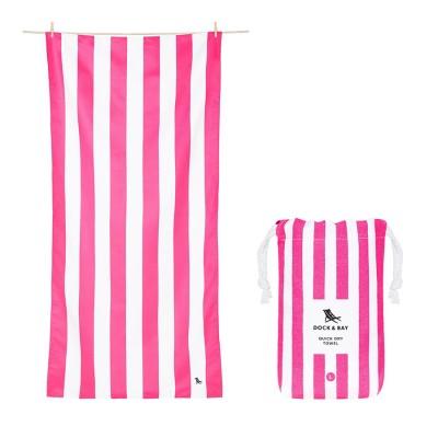 Πετσέτα Θαλάσσης Quickdry Cabana - Phi Phi Pink