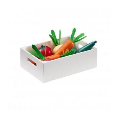 Ξύλινο Σετ Λαχανικών Bistrot