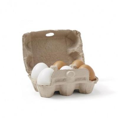 Ξύλινο Σετ Αυγών Bistrot